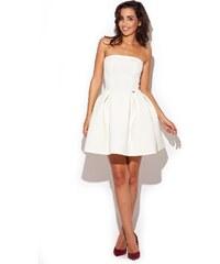 Dámské šaty Katrus K223 bílé