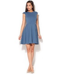Dámské šaty Katrus K162 modré