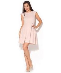 Dámské šaty Katrus K162 růžové