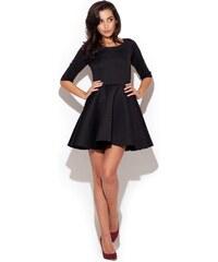 Dámské společenské šaty Katrus K227 černé