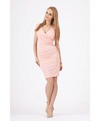Dámské šaty Makadamia 8984 lososově růžové