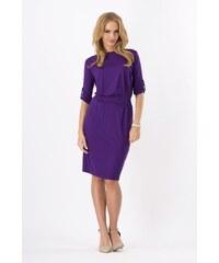 Dámské šaty Makadamia 8986 fialové