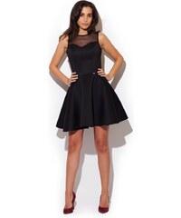 Společenské šaty Katrus K238 černé