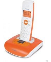 Audioline Schnurlostelefon »Pro 280 color leuchtorange mit AB«