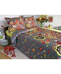 Sweet Home Saténový povlak na polštář Rosali Grey Rozměr: 40x40 cm, Materiál: Bavlněný satén