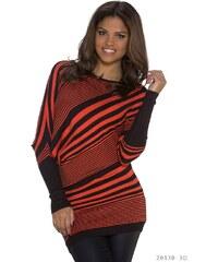 Lucky, Itálie Pruhovaný asymetrický svetr