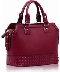 L&S Fashion (Anglie) Kabelka LS00157A červená (burgundy)