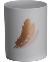 Madam Stoltz Porcelánový svícínek Feather