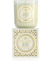 VOLUSPA Luxusní svíčka Suede Blanc 340 gr