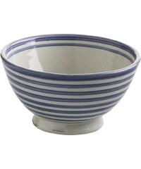 Tine K Home Keramická miska Stripe blue