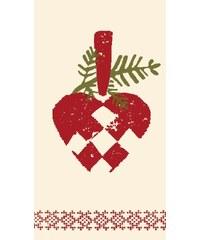 Maileg Papírové ubrousky Heart - 16 ks