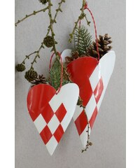 IB LAURSEN Dekorativní závěsný kornout Heart