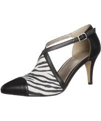 Anna Field Pumps black/black/zebra