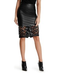 Guess by Marciano Sukně Guess By Marciano Medley Leather Pencil Skirt