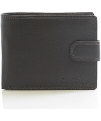 Hnědá kožená peněženka se zápinkou SendiDesign P07-6 hnědá