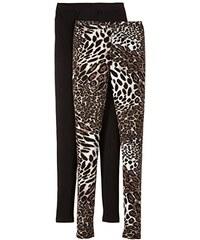 ONLY Damen Skinny Legging LIVE LOVE W.PRINT, 2er Pack