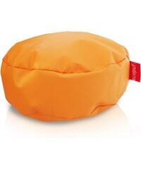 Ecopuf Sedací taburet (podnožník) Classic oranžová ekokůže