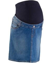bpc bonprix collection Těhotenská džínová sukně, streč bonprix