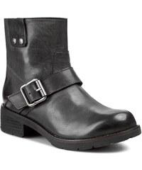 Magasított cipő CALVIN KLEIN JEANS - Hadley Tumbled Calf RE8755 Black f0a8512ae7