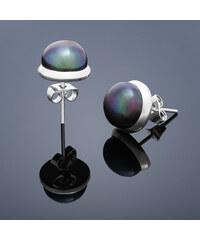 Buka Jewelry Buka Vpichovací náušnice Buka – fialová 213