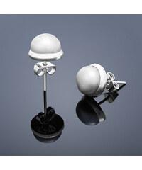 Buka Jewelry Buka Vpichovací náušnice Buka – šedá 214