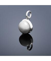 Buka Jewelry Buka Přívěsek Buka velký – šedá 522