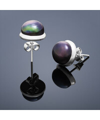 Buka Jewelry Buka Vpichovací náušnice Buka – černá 210