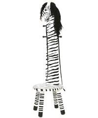 CHIC2000, Fantasy Fields?, Lehnen-Hocker mit Garderobenfunktion »Zebra«
