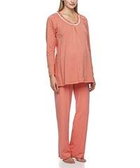 Anita Maternity Damen Umstands Schlafanzug Pyjama Heather