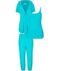 bpc bonprix collection Wellness oblek s pytlíkem (3dílná souprava) bonprix