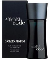 Toaletní voda Giorgio Armani Black Code Objem: 75 ml
