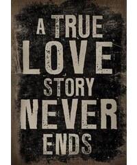 La Finesse Dekorativní obraz na plátně Love story