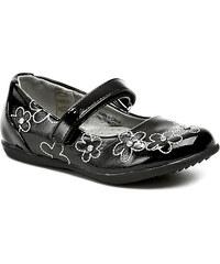 Dětská obuv Cortina.be 195531 černé dívčí baleríny