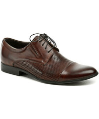 Tapi 4317AD hnědá pánská společenská obuv