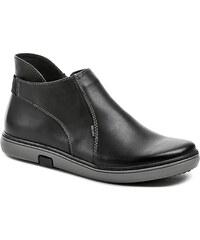 Wawel Dámské zimní boty E1223 černé polobotky