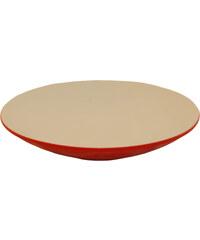 Jaliang - Talíř RED LIFE 21cm, bílá, červená(20017)
