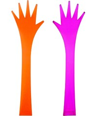 ZAK! designs - Pomocné ruce, 2-ks set 32 cm - oranžové/fuchsia (0920-0420)