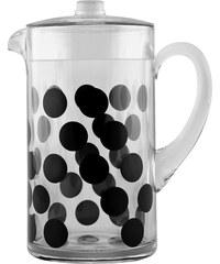 ZAK! designs - Dot Dot džbán 2l - černý (0439-1441)