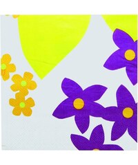 ZAK! designs - Papírové ubrousky 20-ks set 33x33 cm - květy (5632-2009)