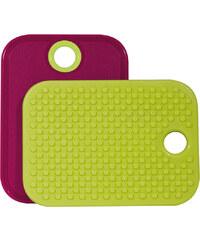 ZAK! designs - Protiskluzové prkénko malinová/zelená, 19 x 14 cm (1333-330)