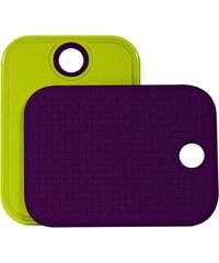 ZAK! designs - Protiskluzové prkénko -zelená/fialová, 20 x 28 cm (0204-331)
