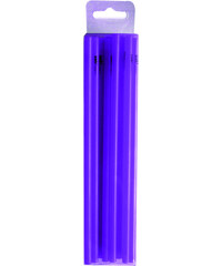 ZAK! designs - Mini brčka na jednorázové použití 50ks set-fialové, 5*150mm 27g/100pcs (0238-700)