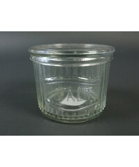 KERSTEN - Dóza SALT, sklo, čirá, 11x11x9cm (LEV-0270)