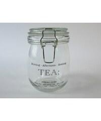 KERSTEN - Zásobník TEA sklo,čirý, 12,5x10,8x14cm (LEV-1783)
