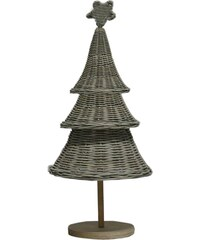 Bastion collections - Ratanový vánoční strom, 50cm (HO-XMAS TREE TABLE)