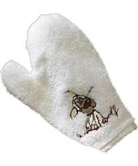 NICI - Žínka-rukavice Jolly Wolf přírodní, mikrofáze (1421p)