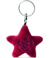NICI - Hvězda červená, klíčenka plyš (29003)