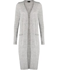 Vila RIVA Strickjacke light grey melange