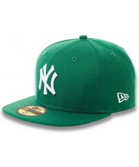 NEW ERA Mlb Basic Neyyan Green/White 7 5/8