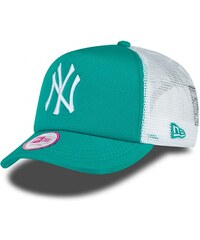 NEW ERA Wmns Mlb Clean Trucker Neyyan Teal/Wht OS